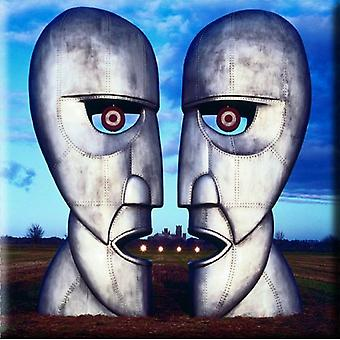 Pink Floyd Fridge Magnet The Division Bell Metal Heads new Official 76mm x 76mm