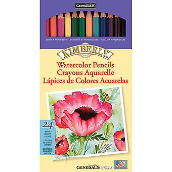 Kimberly Watercolor Pencils 24 Pkg 700 24A