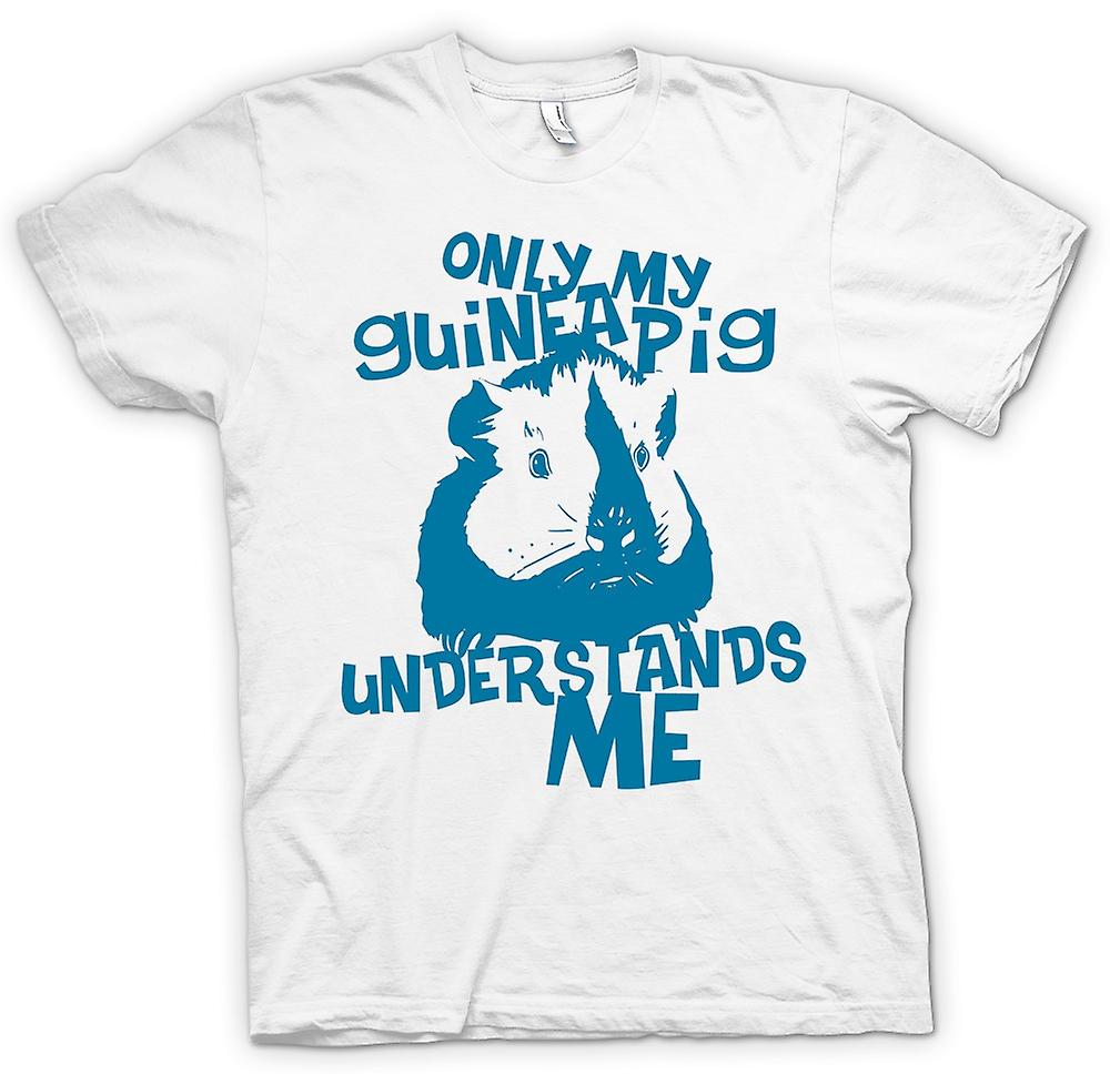 Womens T-shirt - Only My Guinea Pig Understands Me