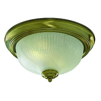 Flush Antique Brass Fitting 28cm