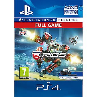 RIGS Mechanized Combat League PS4 PSVR PSN Code - UK account