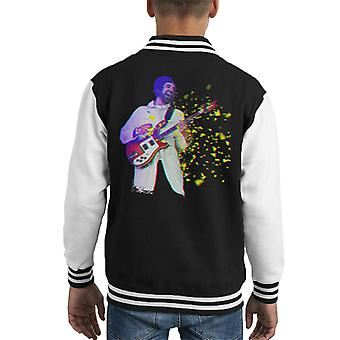 Serge Pizzorno Of Kasabian At TRNSMT Festival Glasgow 2017 Kid's Varsity Jacket