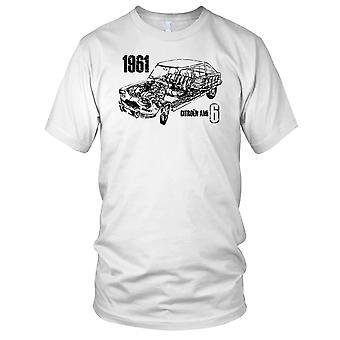 Citreon Ami 6 klassisk fransk bil damer T skjorte