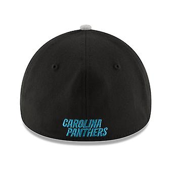 Carolina Panthers NFL Nova Era 39Thirty Heather Stretch equipado chapéu