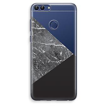 Huawei P Smart (2018) Transparent Case (Soft) - Marble combination