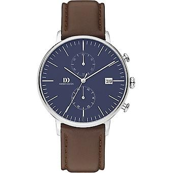 Danish design mens watch TIDLØS COLLECTION chronograph IQ42Q975 / 3314506