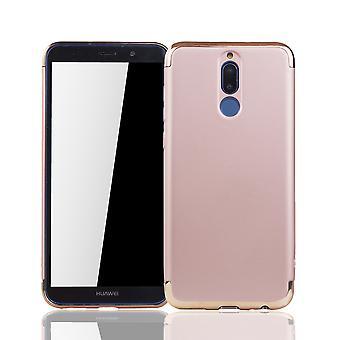 Huawei s'accoupler 10 Lite mobile pare-chocs Housse Etui rose