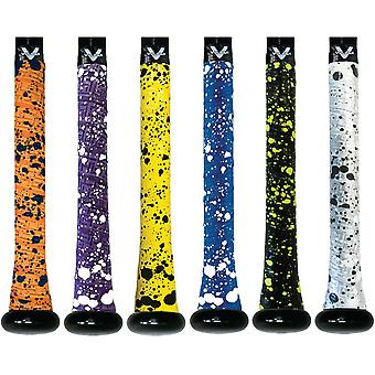 Vulcan Splatter serie 1,75 mm ultraleggeri avanzati polimero Bat Grip Tape Wrap
