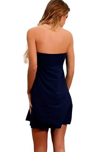 Waooh - Fashion - Short Dress Strapless Evening