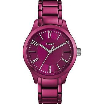 Unisex Purple Aluminium Watch