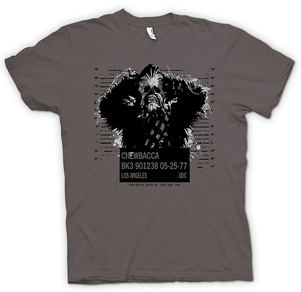 Womens T-shirt - Chewbacca Mug Shot - Star Wars