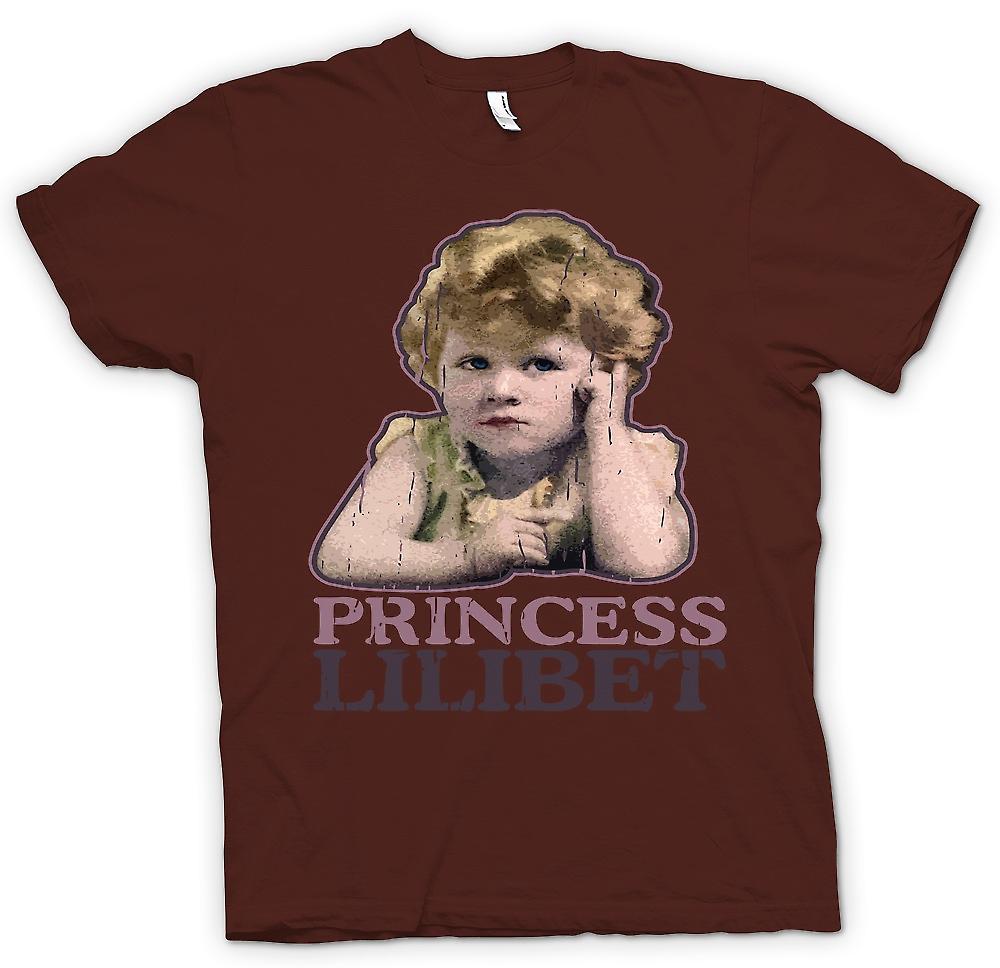 Mens t-shirt - principessa Lilibet - Queen Elizabeth 2 °