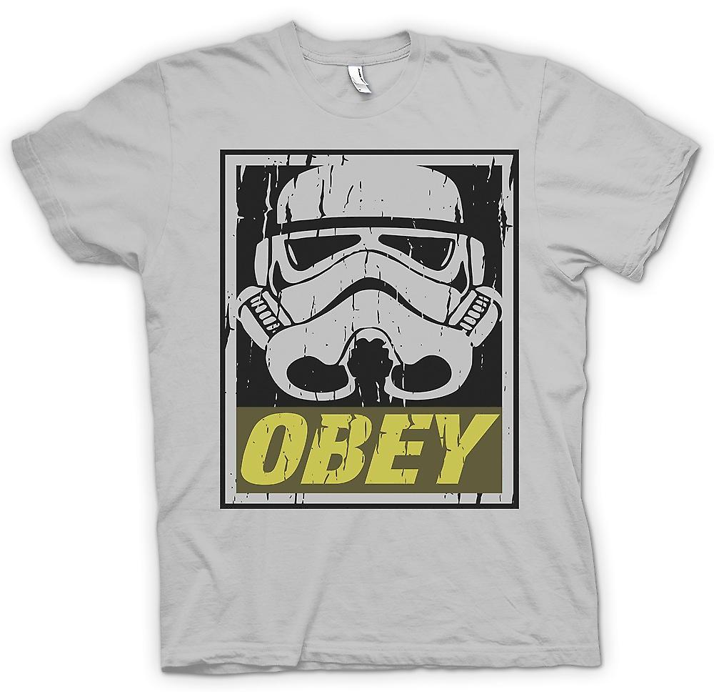 Mens T-shirt - Stormtrooper - gehorchen - Star Wars inspiriert
