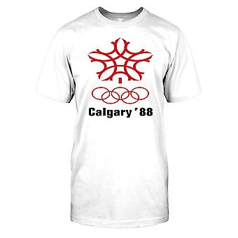 Calgary 88 Winter Olympics Mens T Shirt