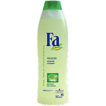 Fa Caribbean lemons Cologne Water 750 Ml (Perfumes , Family fragrances)