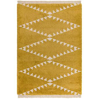 Rocco Rugs Rc05 In Mustard