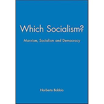Które socjalizm: Marksizm, socjalizm i demokracji