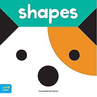 Shapes Lift & Learn: Interactive flaps reveal basic concepts for toddlers� (Lap Board Concepts) [Board book]