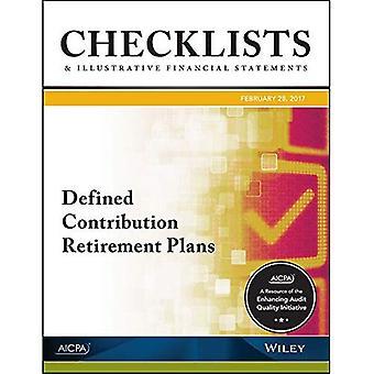 Liste di controllo e illustrativi Financial Statements 2017: definiti piani di pensionamento contributo (AICPA)