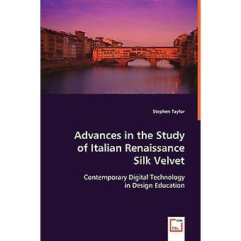 Avances en el estudio de terciopelo de seda italiano por Taylor y Stephen