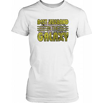 Best Husband In The Galaxy - Cool Ladies T Shirt
