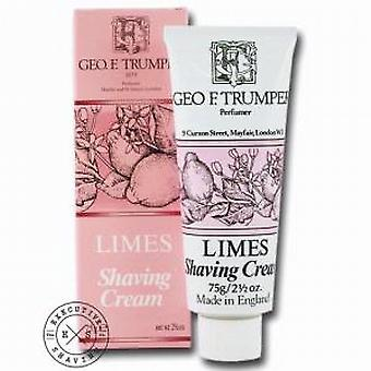 Geo F Trumper Limes Shaving Cream Tube 75g