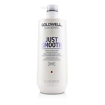 Goldwell dual sentidos simplemente suavizan el acondicionador (control para el cabello rebelde)-1000ml/33.8 oz