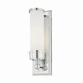 Elstead-1 lampada da parete bagno luce cromo lucido IP44-bagno/WS1