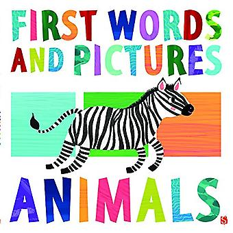First Words & Pictures - Animals by Margot Channing - 9781912006007 Bo
