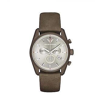 Emporio Armani Ar6076 Sportivo Chronograph Silver Dial Men's Watch