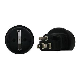 Schuko To US 3 Pin Plug Adapter