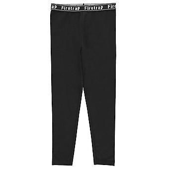 Firetrap meninas leggings calças calças Bottoms Júnior