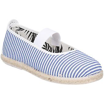 Flossy Girls Junior Ninez Slip On Casual Summer Pump Shoes