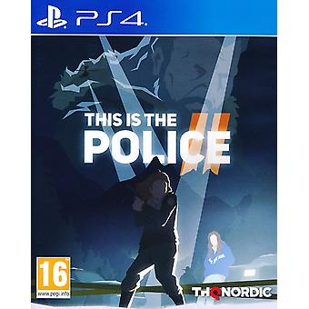 This is the Police II 2 - Playstation 4