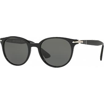 Persol 3151S Black polarized green Medium