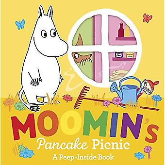 Moomin's Pancake Picnic Peep-Inside [Board book]