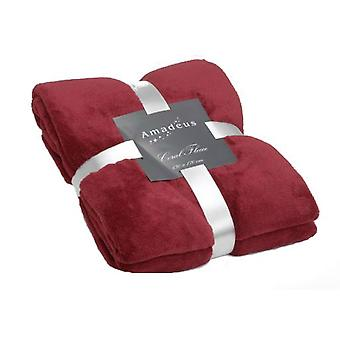Amadeus Raspberry Blanket 130X170 (Textile , Bed Linens , Duvets, bedspreads and quilts)