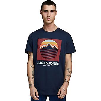 T-shirt Jack et Jones Dorsey Navy 43