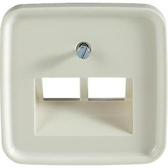 Busch-Jaeger Cover UAE socket Duro 2000 SI, Duro 2000 SI Linear Cream-white 1803-02-212