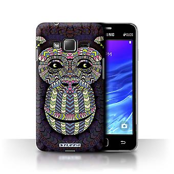STUFF4 Case/Cover for Samsung Z1/Z130/Monkey-Colour/Aztec Animal