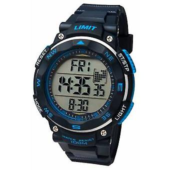 Limit Mens Sport Black Strap 5487 Watch