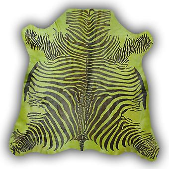 Rugs -Zeb-Tastic Zebra Rugs - Green & Black