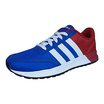 Adidas V Racer TM II Band Mens Running Trainer / Schuhe - blau