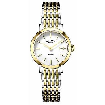 Rotary Womens Two Tone Strap LB05301/01 Watch