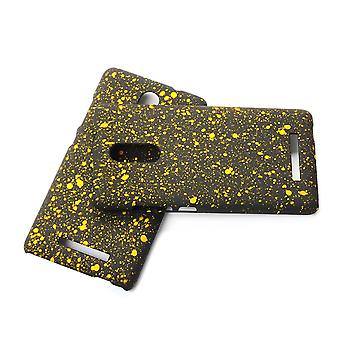 Cell phone cover case bumper shell for Xiaomi Redmi note 3 3D star yellow