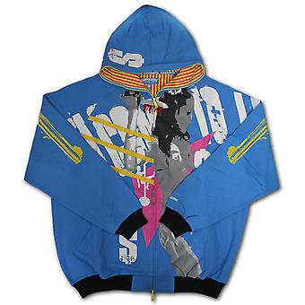 Crown Collective Girls Be Bangin Zip Hoodie Aqua