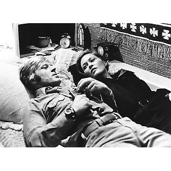 Three Days Of The Condor From Left Robert Redford Faye Dunaway 1975 Photo Print