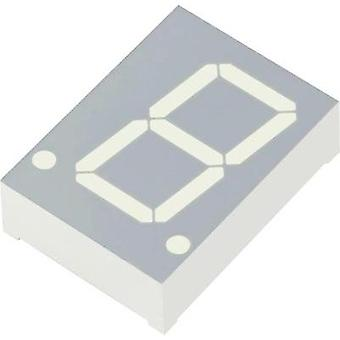 Seven-segment display Red 20 mm 2.25 V No. of digits: 1 Kingbright SC08-11HWA