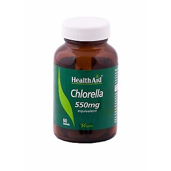 Health Aid Chlorella 550mg, 60 Tablets