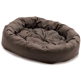 Hund gået Smart Donut sengen brun 69cm